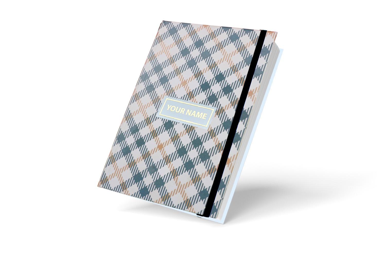 Grey Executive Personalised Notebook