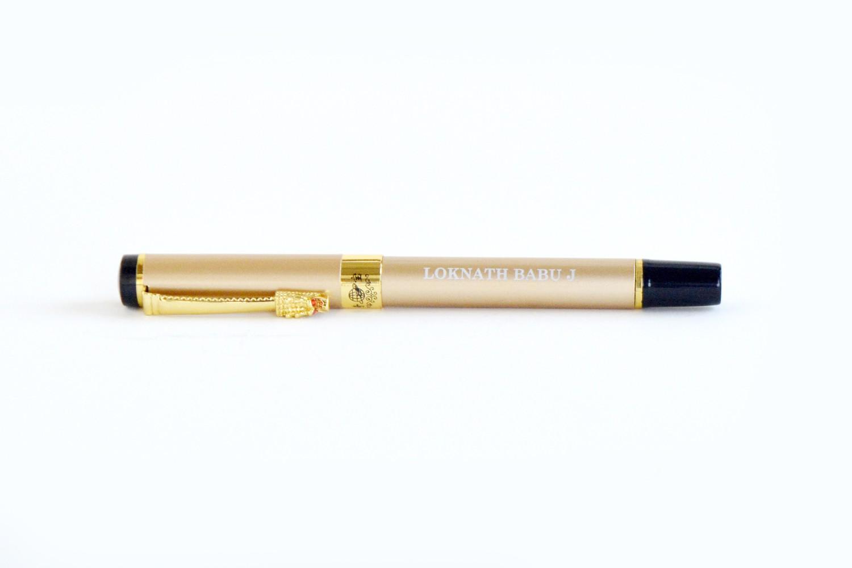 Elite Golden Personalised Pen