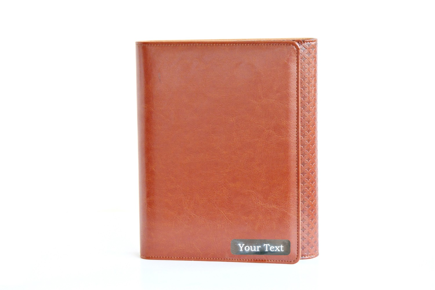Russet Lether Personalised Business Planner/ Organiser