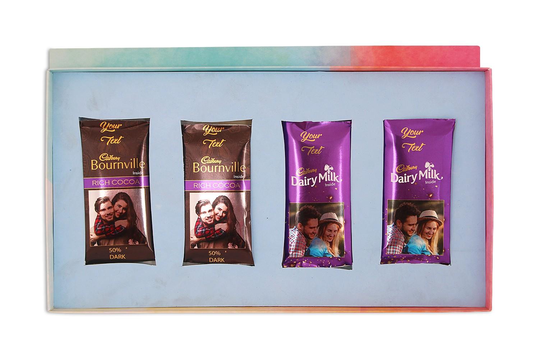 Customised Cadbury Dairy Milk & Bournville Chocolate Bars