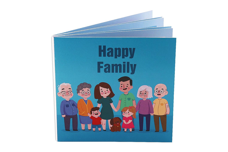 Family Ties 6X6 Photo Album
